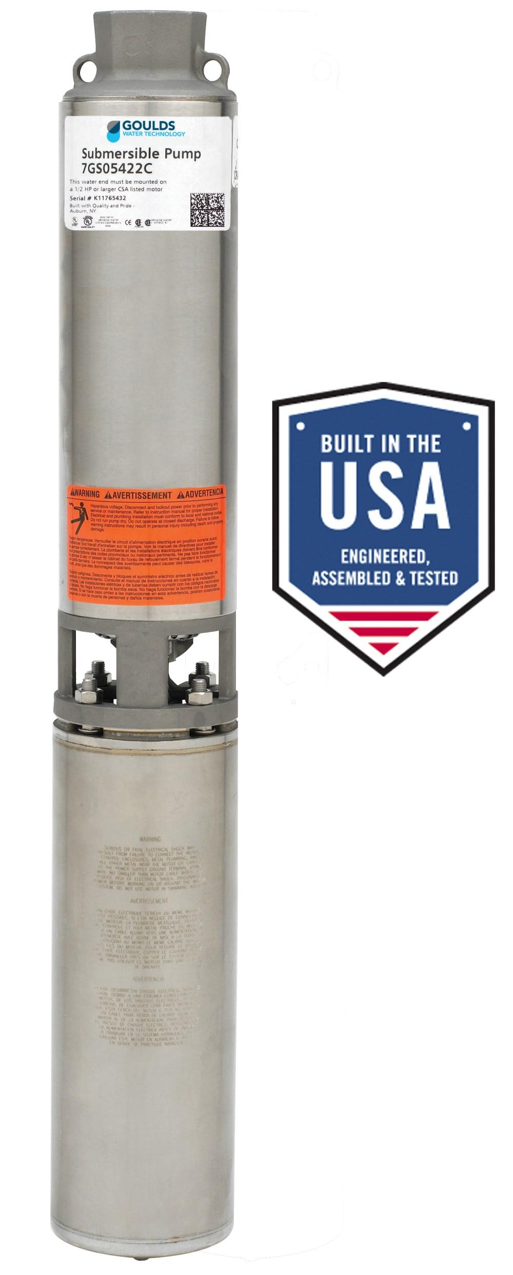 medium resolution of gs pump 5 25 range 1 2 to 5 hp standard capacity
