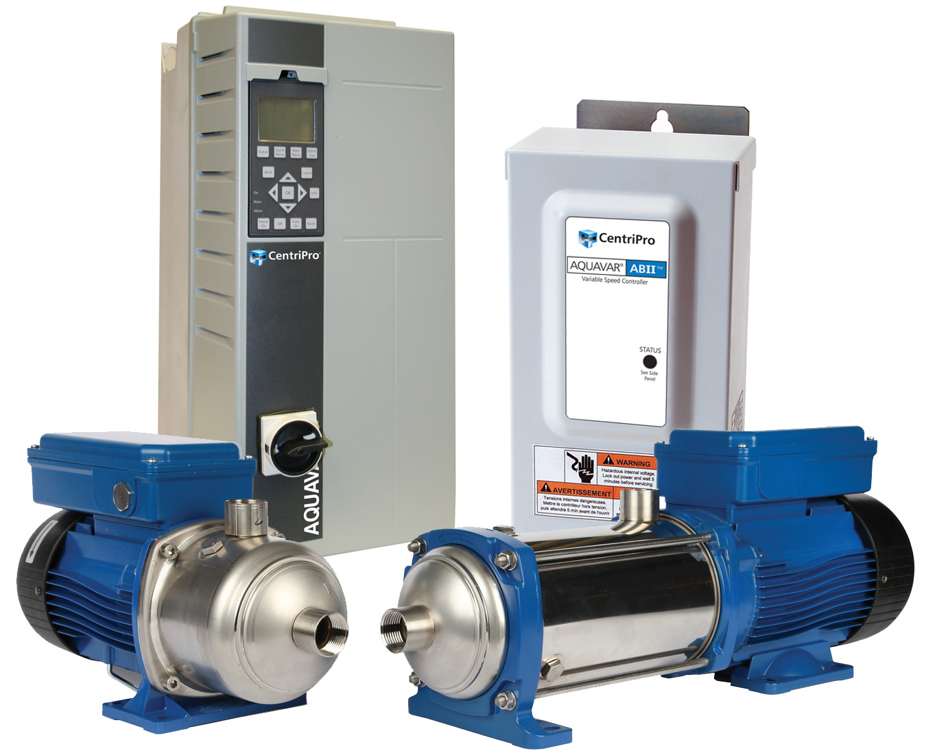 hight resolution of variable speed constant pressure pump controllers