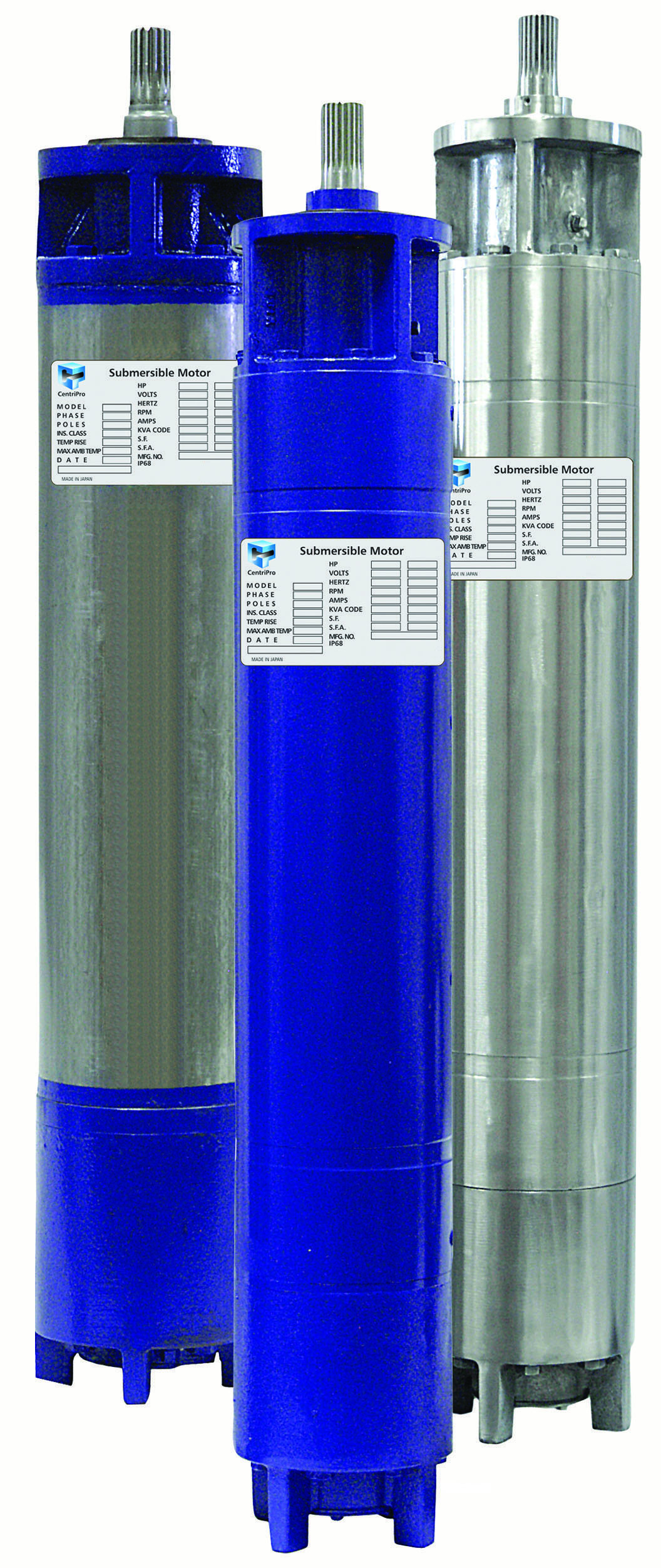 hight resolution of centripro 6 and larger deep well submersible motors