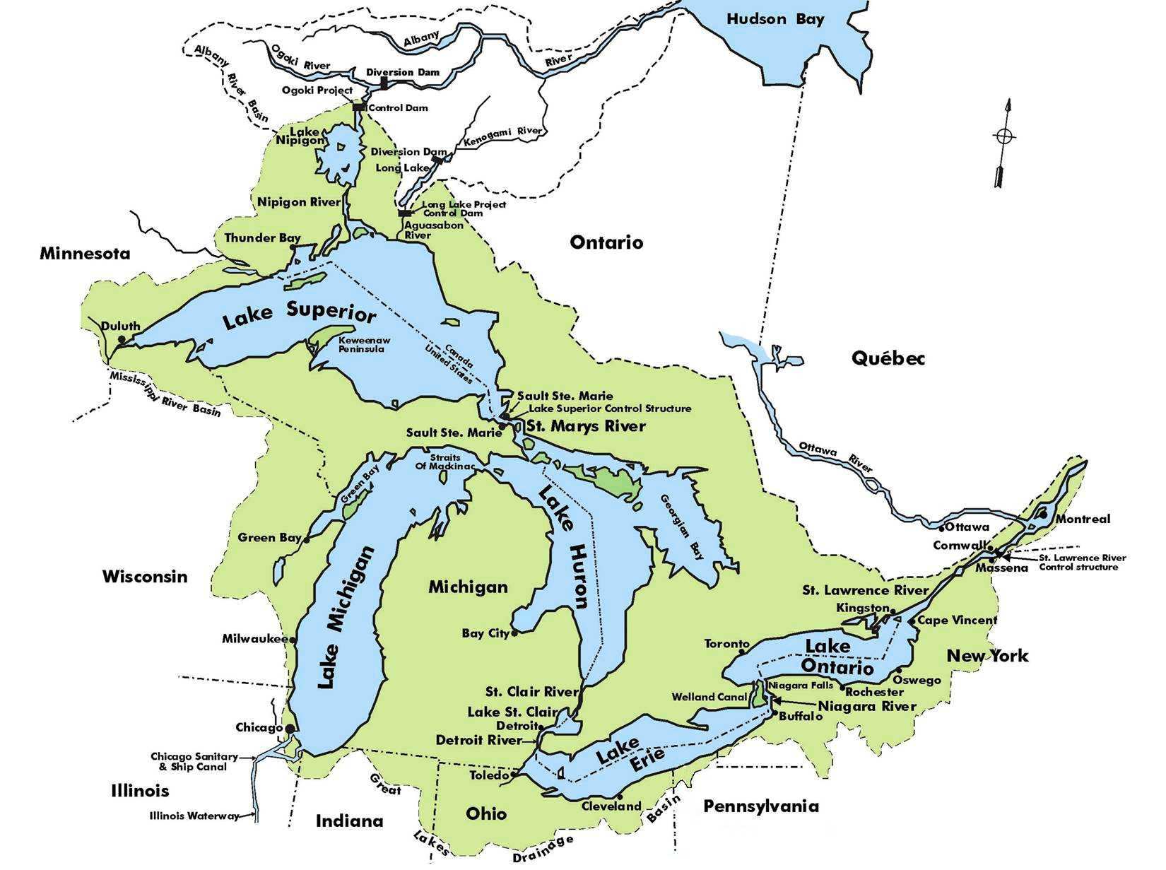 Map Of Rivers In The Us - Longest river in the us map