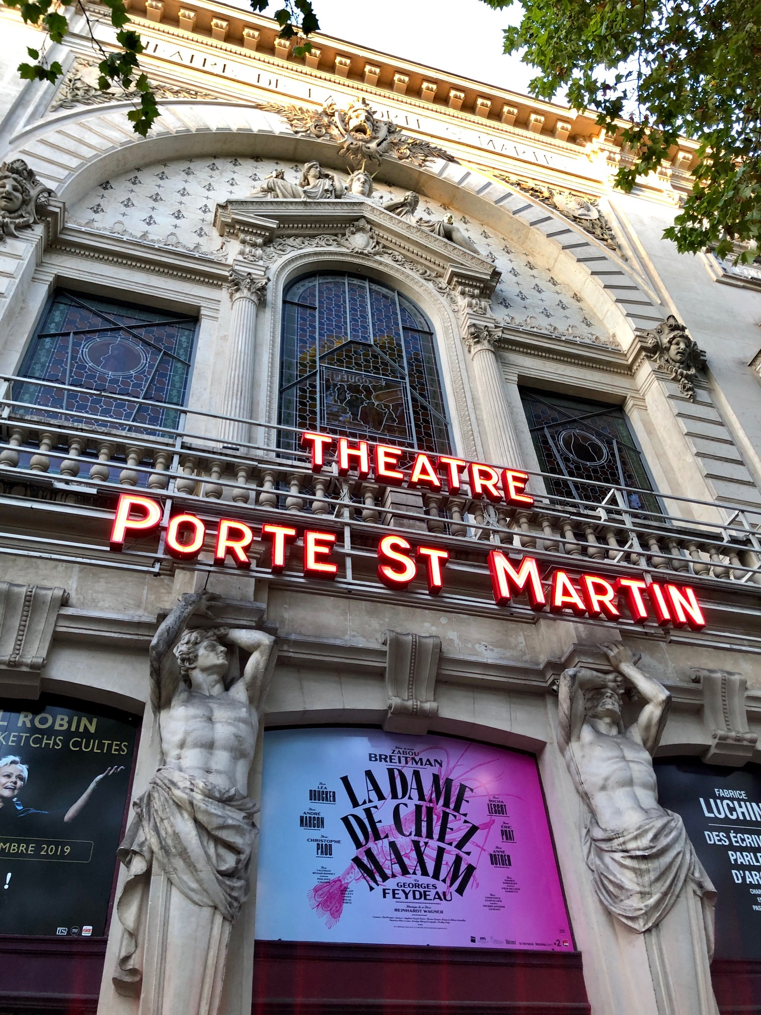 La Dame De Chez Maxim Porte Saint Martin : maxim, porte, saint, martin, Maxim, Zabou, Breitman, Drucker, Extra
