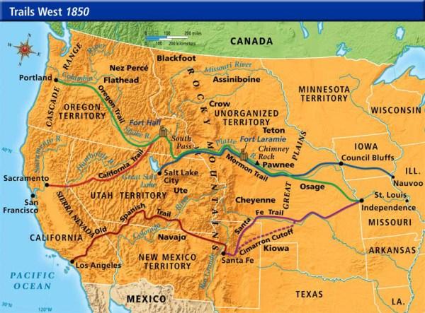 Trails West Westward Expansion