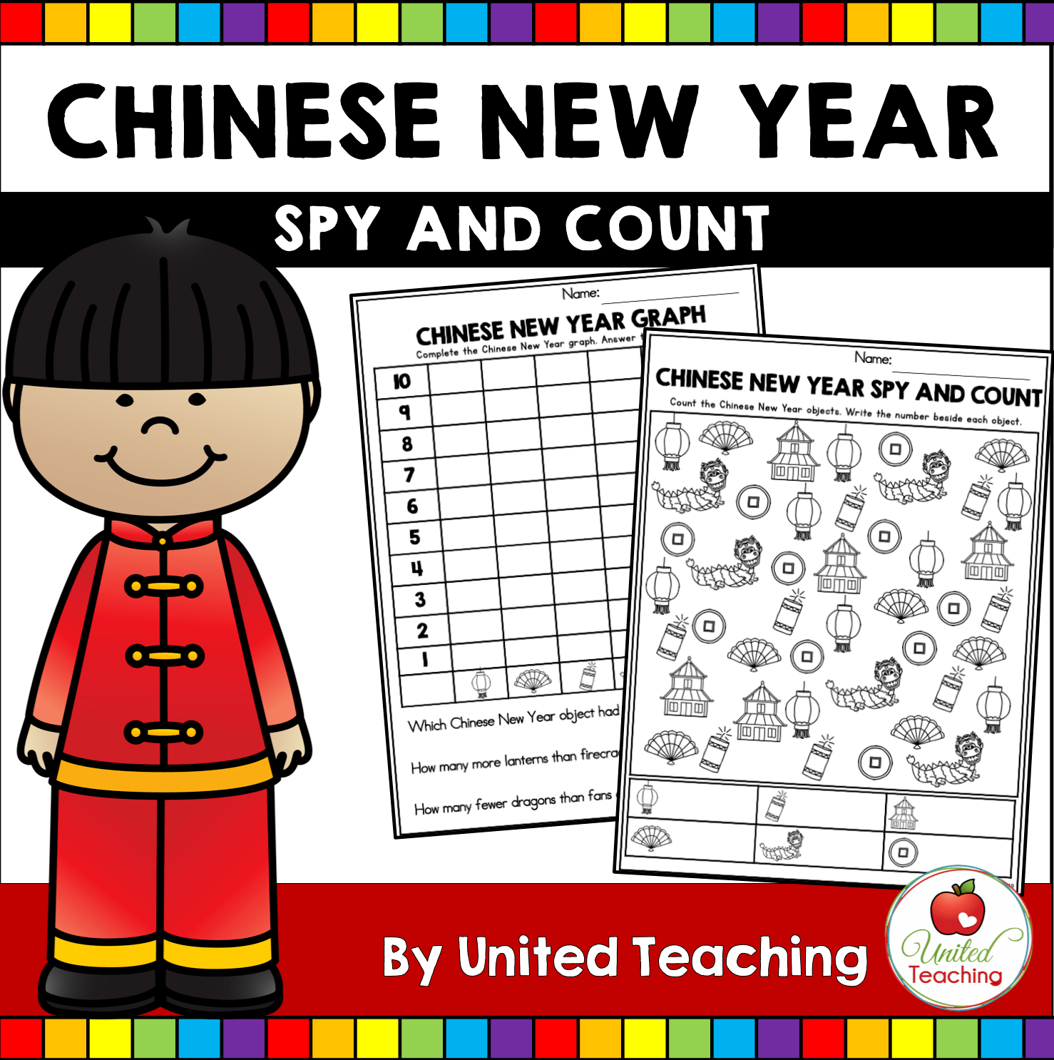Chinese New Year Reading Worksheet