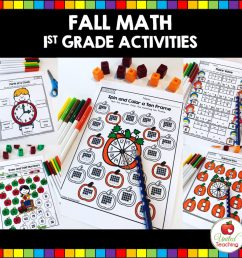 FALL MATH ACTIVITIES (1ST GRADE) - United Teaching [ 1024 x 1020 Pixel ]