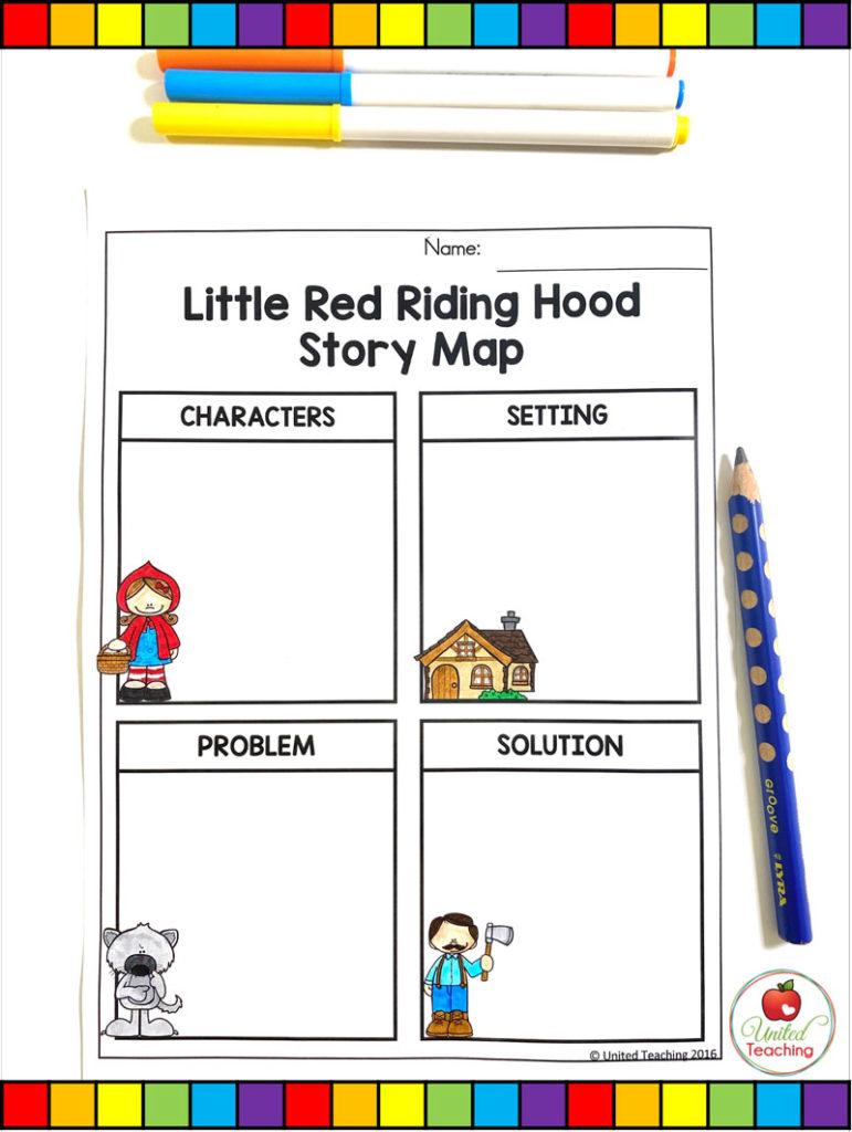 medium resolution of Little Red Riding Hood Fairy Tale Activities -