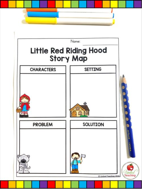 small resolution of Little Red Riding Hood Fairy Tale Activities -