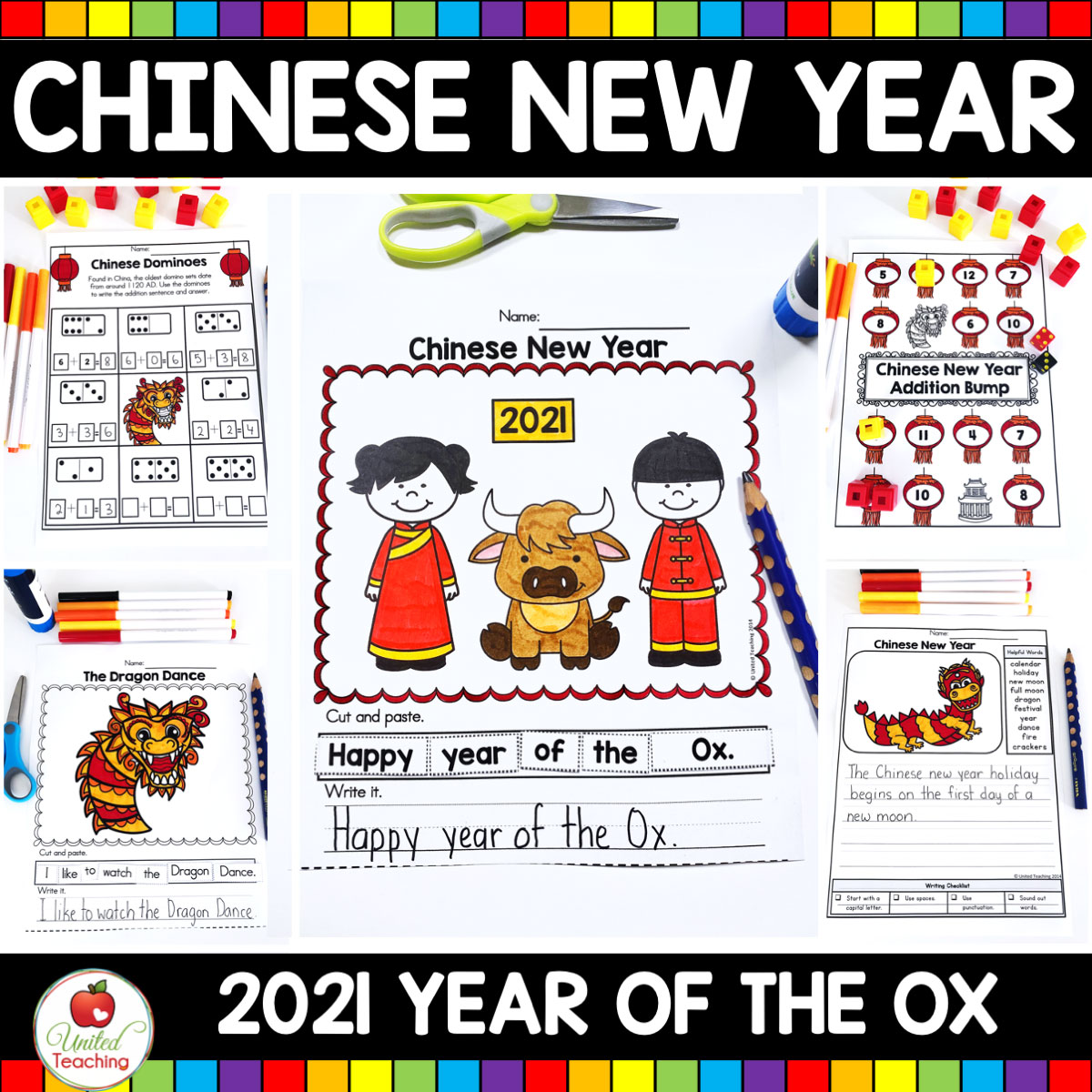 hight resolution of Chinese New Year No Prep Activities