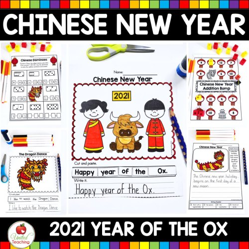 small resolution of Chinese New Year No Prep Activities
