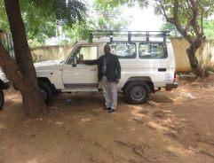 Bishop of Sudan car