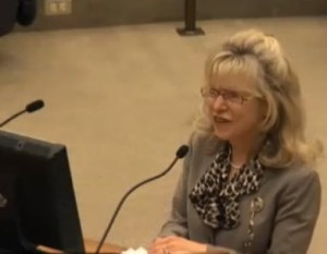 Dr Janice Knebl at FW City Council_392x304