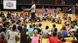 Myles Basketball Clinic Large Group Pic - Blog