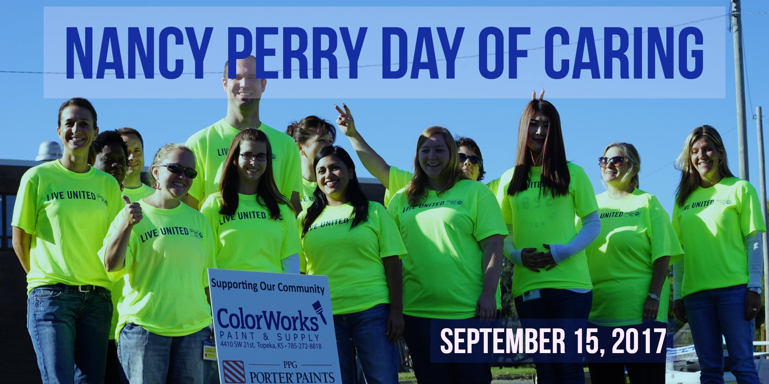 Nancy Perry Day of Caring, September 15, 2017