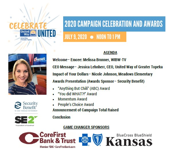 first page of the July 2020 Campaign Celebration program with link to the PDF file