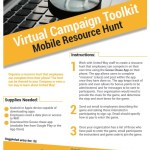 Virtual Campaign Toolkit Mobile Resource Hunt instructions