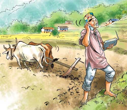CDMA phone revolution in Nepali villages