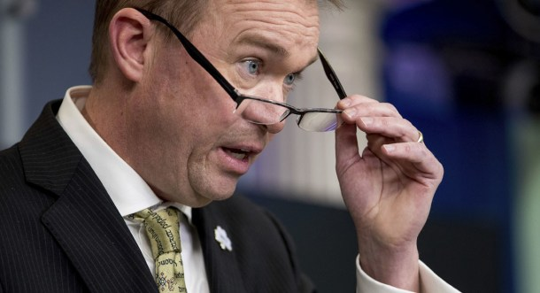 Mick Mulvaney is pressing lawmakers to include language to restrict federal funding grants for cities that do not enforce federal immigration policies. | AP Photo