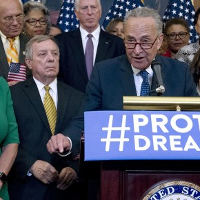 Dems back away from brink on Dreamers