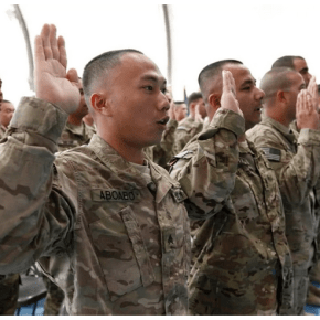 Military spending bill provision reduces deportation risk for immigrant recruits