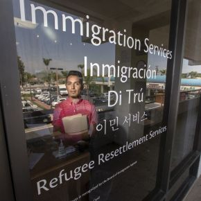 Arrivals of refugees have hit historic lows. To stay afloat, resettlement agencies re-brand