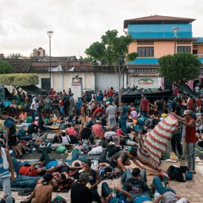 Migrant Caravan Driven by Hope but Uncertain of Success
