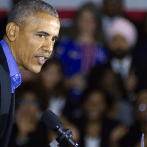 "Barack Obama Tells Voters Exactly Why Donald Trump Is Stoking Fears About the ""Caravan"""