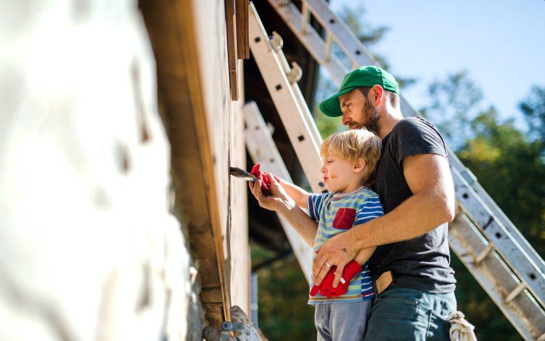 how to paint fiber cement siding
