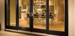 Milgard glass doors
