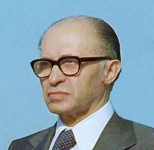Late Prime Minister Menachem Begin. (Photo: Wikipedia)