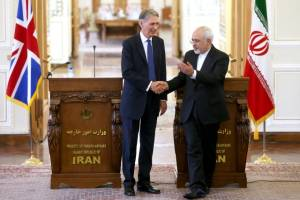 Hammond Zarif Iran