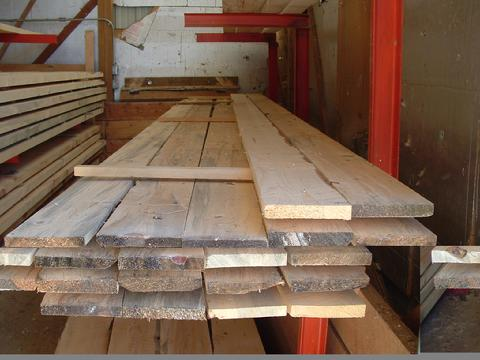 Using Rough Cut Lumber For Flooring