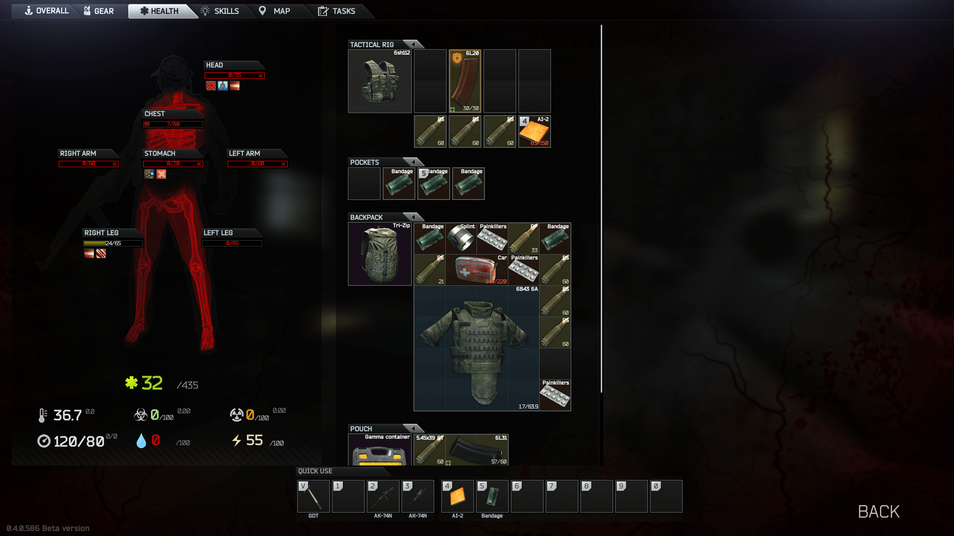 No idea how i suvived this!! Nice Loot though =)