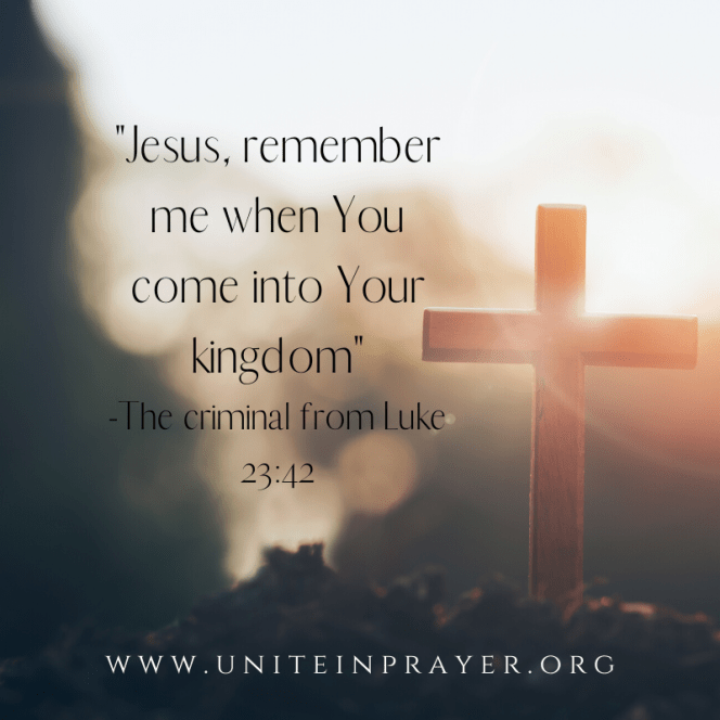 Jesus, remember me when you come into your kingdom_(1)