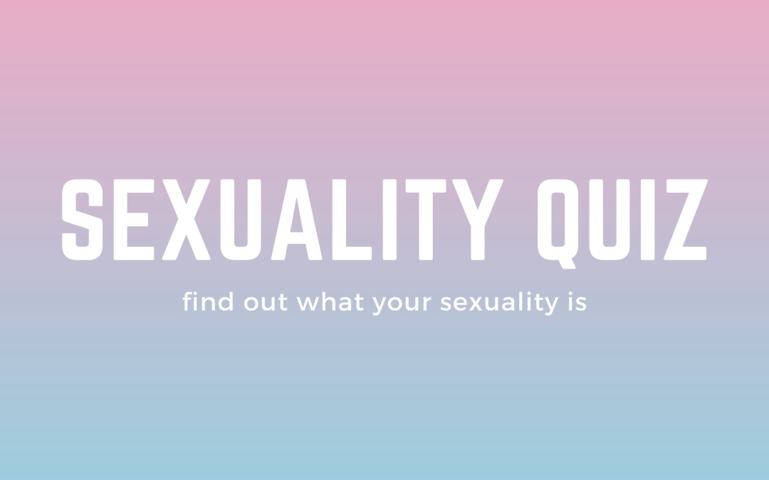 Your sexuality quiz test What Is