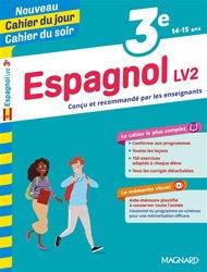 A Ce Soir En Espagnol : espagnol, Cahier, Jour/Cahier, Espagnol, Mémento, Magnard