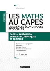 Agrégation Sciences économiques Et Sociales : agrégation, sciences, économiques, sociales, Maths, CAPES, Sciences, Sociales, Dunod