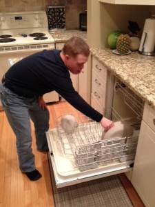 Jeff dishwasher