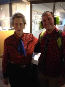 Alex and Dr. Grandin_a