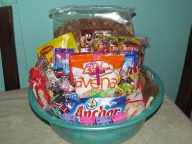 So many blessings, from so many different people, in one basket...Praise Jesus for allowing us all to be a part of this!