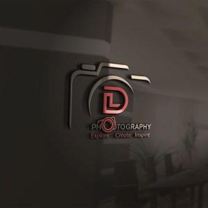 Initial Based Photography Logo