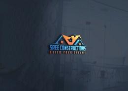 construction house logo