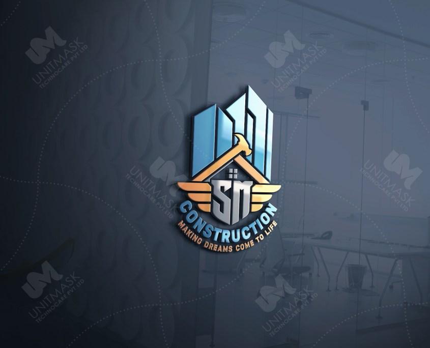 best construction company logo