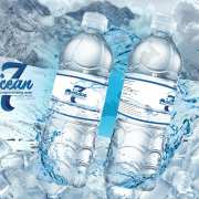 water bottle packaging design