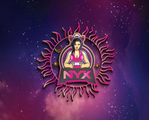 NYX 3D Gaming logo design