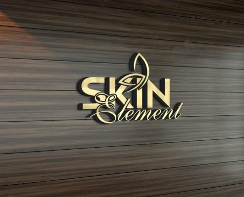 skin care logo design