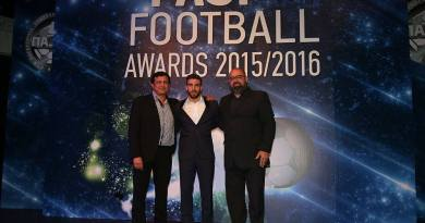 PASP Football AWARDS 2015-16