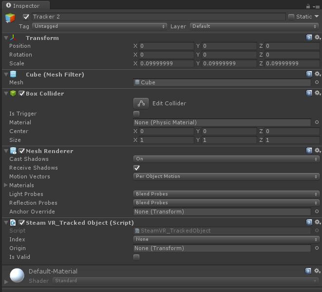 HTC Vive Tracker Unity3D / SteamVR Setup - Unity3D College
