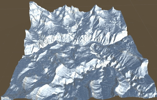 Importing Real World Unity Terrain Heightmap for free with terrain