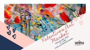 Valentine's Artists' Market @ Unity Arts Ministry