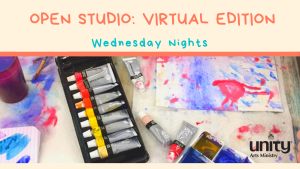 Open Studio: Virtual Edition @ Join us online