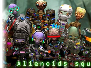 Alienoids Squad Pack for free (unityassets4free)